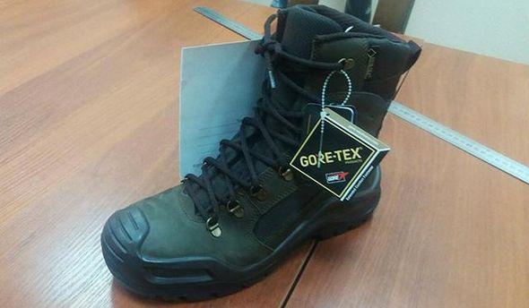 Новая обувь для бойцов ВСУ