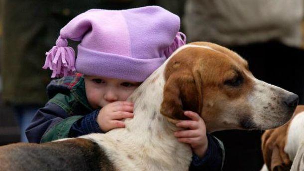 Між дітьми і собаками є чимало спільного