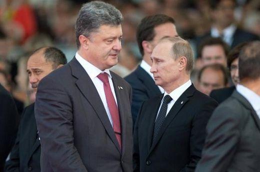 Порошенко поговорил с Путиным про Авдеевку