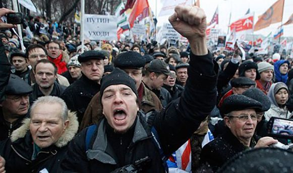 У Росії зросли протестні настрої