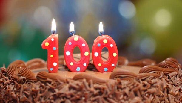 Вечеринка на 100-й День рождения