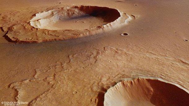 Поверхня Марсу після повені