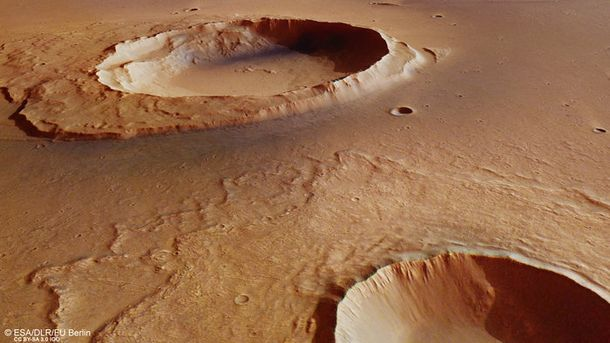 Поверхность Марса после наводнения