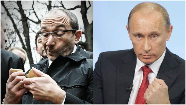 Геннадий Кернес и Владимир Путин