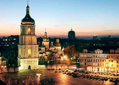 Минувшая ночь в Киеве была рекордно теплой