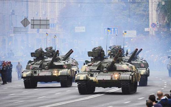 В армії побільшає танків