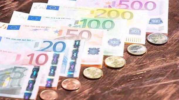 Євро подорожчав на 17 копійок