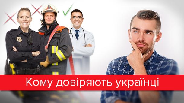Кому найбільше довіряють громадяни України