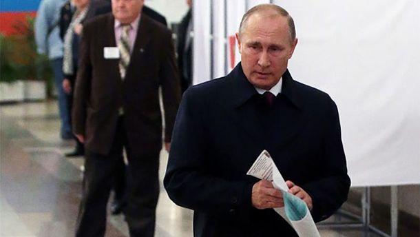 Владимир Путин на выборах