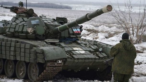 Из танка боевики били по Авдеевке