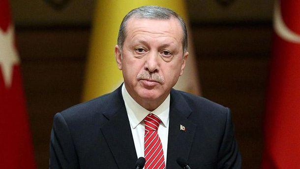 Турецкий президент Реджеп Эрдоган