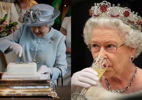 Что ест королева Великобритании