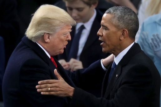 Трамп та Обама