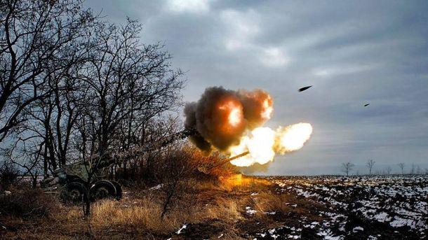 Бойовики обстріляли українські позиції 110 разів
