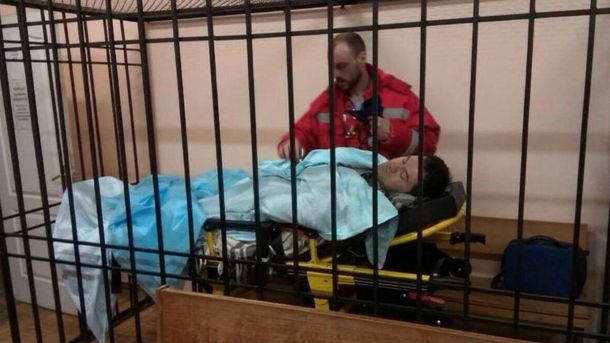 Насиров в суде