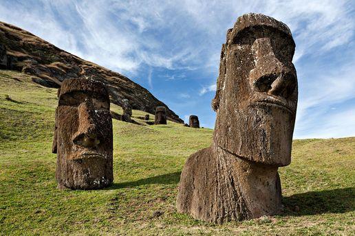 Истуканы на острове Пасха