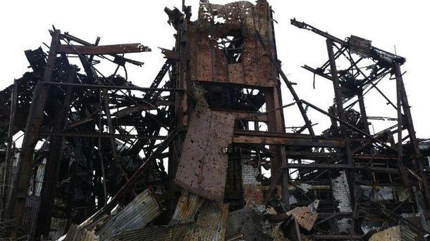 Руины, которые остались от шахты