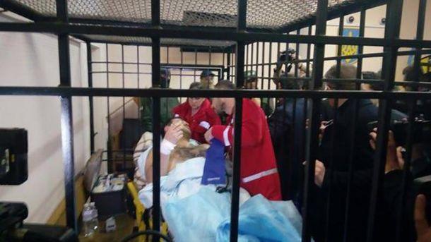 Заседание суда по Роману Насирову