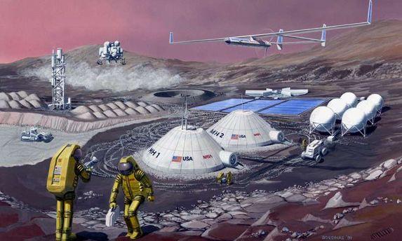 Їжа на Марсі