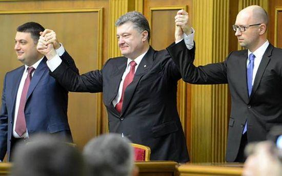 Порошенко та Яценюк зустрічаються з Ахметовим