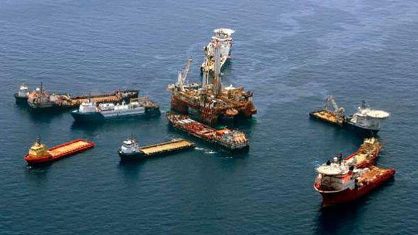 Видобуток нафти на шельфі Чорного моря