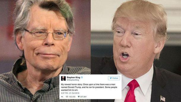 Война Стивена Кинга и Трампа в Twitter
