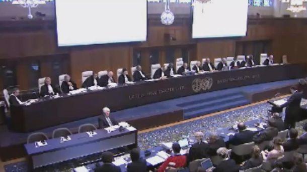 Міжгародний суд в Гаазі