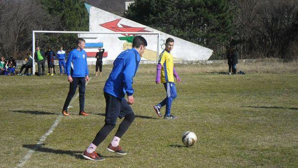 Игра крымских подростков
