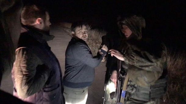 Участники блокады закидали Черновол яйцами, аДзиндзю обвиняют впровокации