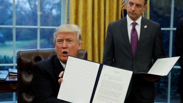 Дональд Трамп подписал указ