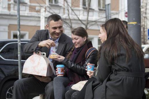 Віталій Кличко привітав жінок зі святом весни