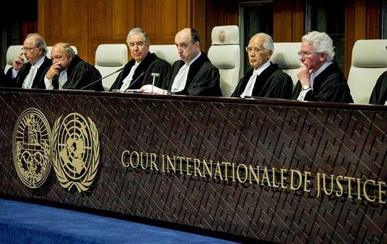 Россия в Гааге выдвигает Украине встречные обвинения