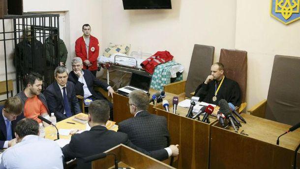 Бобровник на заседание суда по делу Насирова