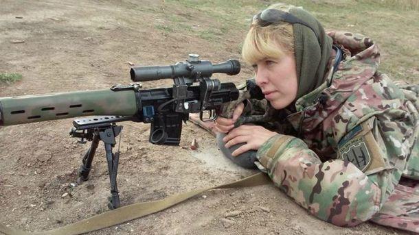 Олена Білозерська воює в УДА