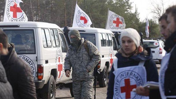 Миссия Красного креста на Донбассе