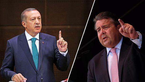 Ердоган та Габріель