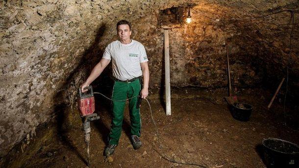 Йенс Хилберт нашел клад