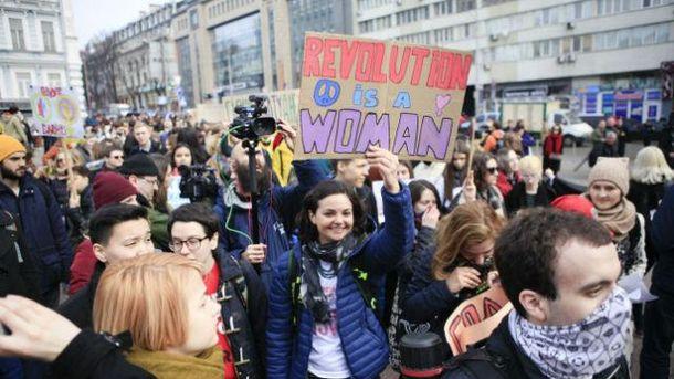 Марш жінок у Києві