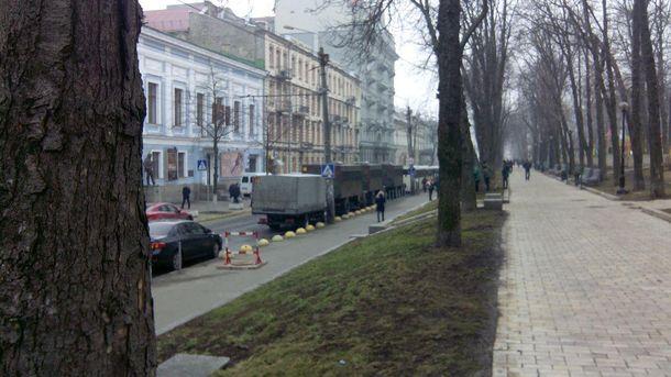 Улица Владимирская в Киеве