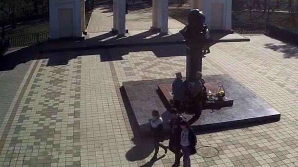Патриотичная молодежь в Симферополе