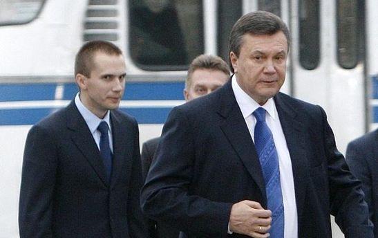 Віктор Янукович та Олександр Янукович