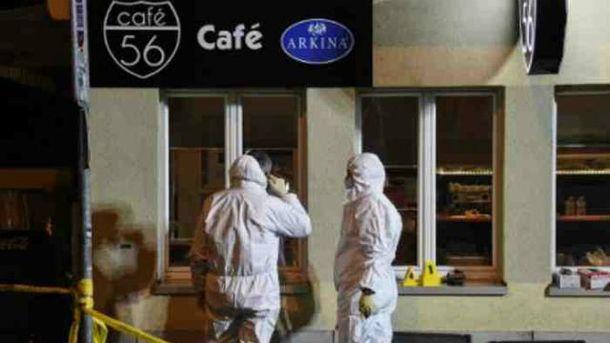 Неизвестные обстреляли кафе в швейцарском Базеле