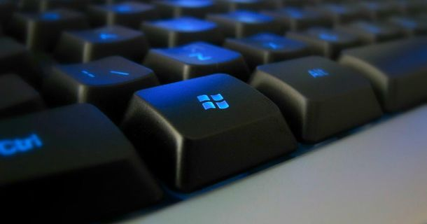 Как использовать клавишу Windows