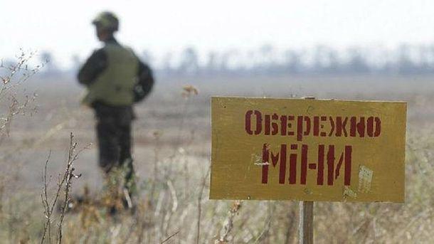 7 боевиков подорвались на мине