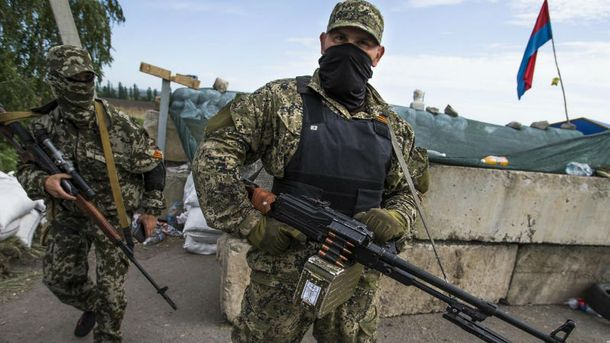 Бесчинства боевиков на Донбассе