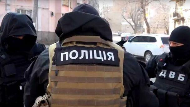 Полиция задержала участников банды в Одессе