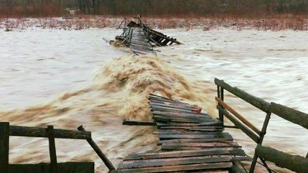 Паводки в Украине