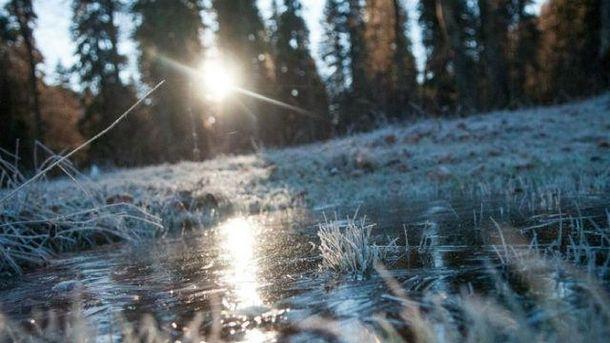 В Карпатах ночью – до 6 градусов мороза