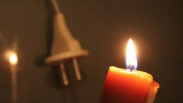 Жители Авдеевки снова остались без света