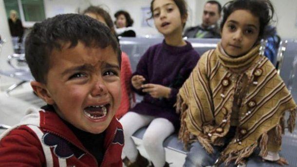 Діти у Сирії